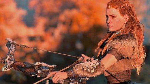 Aloy, la protagonista de Horizon Zero Dawn
