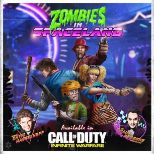 Call of Duty Infinity Warfare zombies