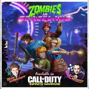 Call of Duty Infinity Warfare zombies