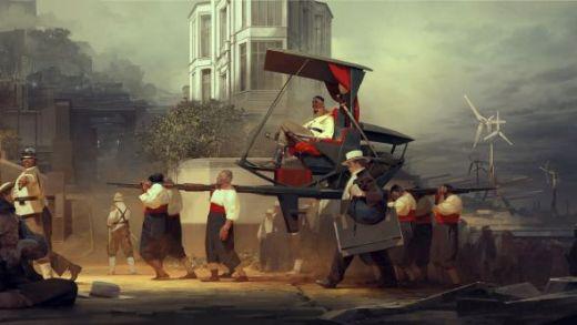 Concept art de Dishonored 2