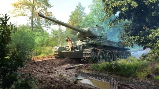 Con motivo de la celebración del Día Nacional de los Veteranos K9 World Of tanks pone a la venta un lote solidario