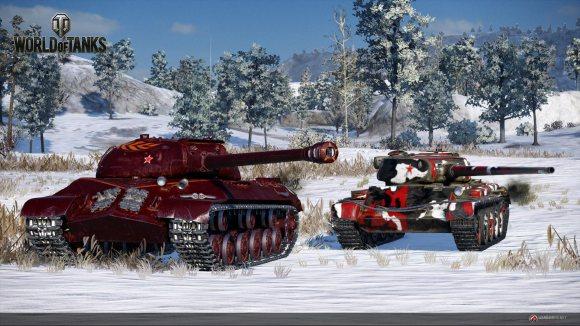 Fatherland IS-3A y el Motherland t54