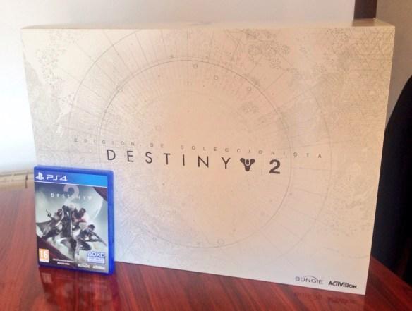 Destiny 2 Unboxing de la collector's edition para PS4