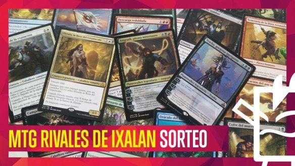 Sorteo Magic The Gathering Mazos Rivales De Ixalan