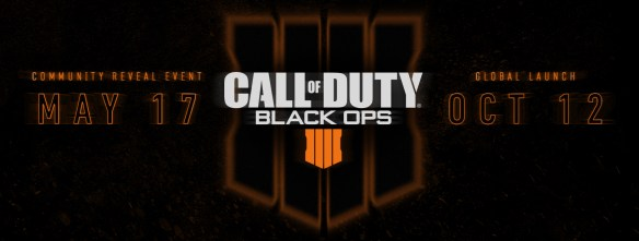 Call Of Duty Black Ops 4 se presenta el 17 De Mayo