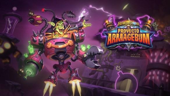 El Proyecto Armagebum es la segunda expansión de HearthStone dentro del año del cuervo