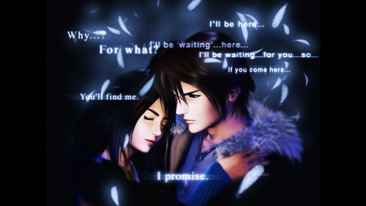 eyes on me de Final Fantasy VIII
