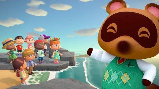 Animal Crossing: New Horizons y su habitantes