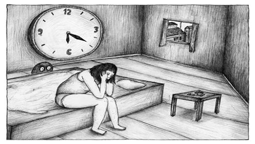 El tiempo pasa vacio con la depresión