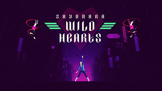 Portada del videojuego Sayonara Wild Hearts de Simogo