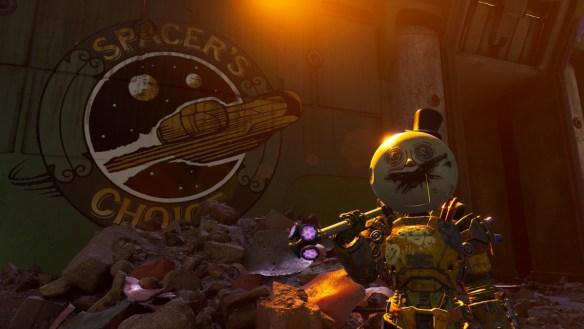 Imagen promocional de The Outer Worlds: Peligro en Gorgona