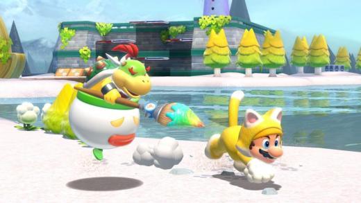 Bowsy con Mario