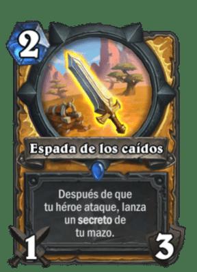 HearthStone Forjados En Los Baldios Espadas De Los Caidos