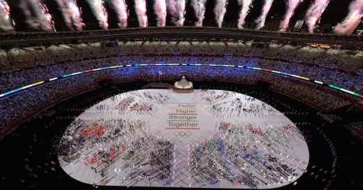 apertura de los juegos olimpicos de tokio 2020