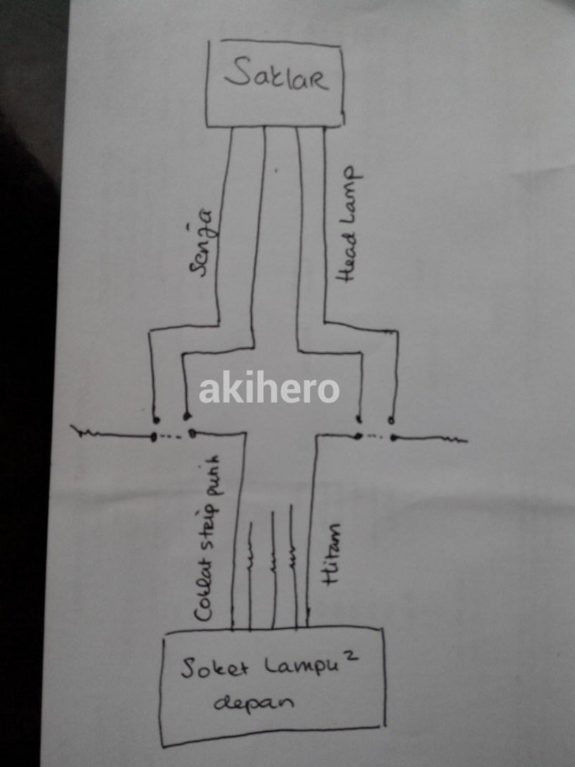 Wiring Diagram Kunci Kontak Vario 125