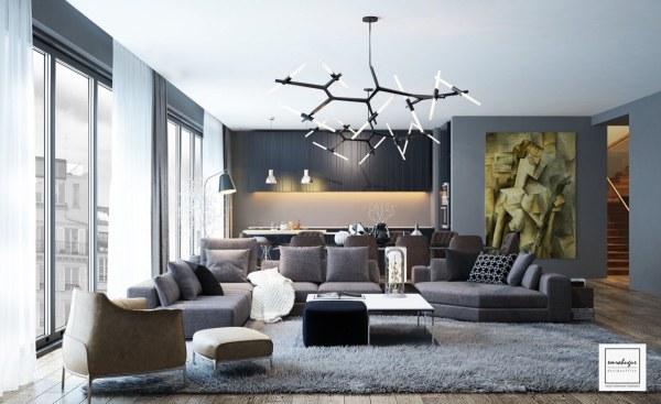 picasso-artwork-in-modern-living-room