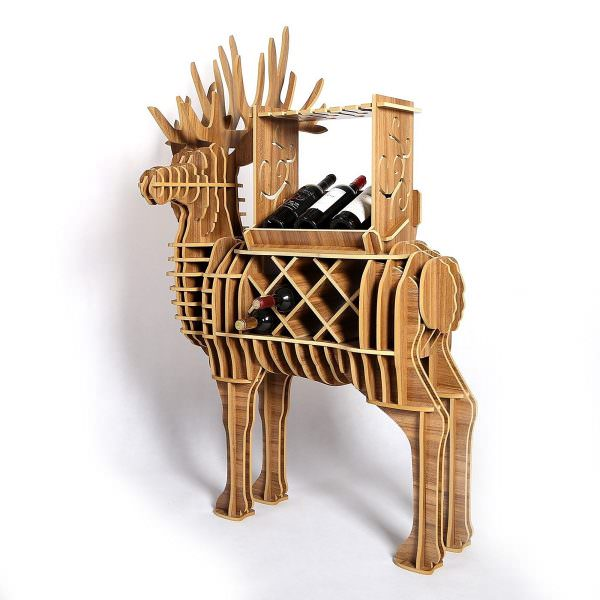 wooden-deer-wine-rack-600x600