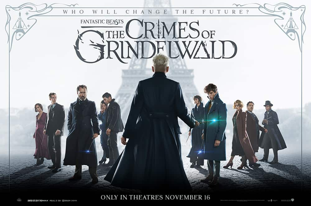 Fantastic Beasts: The Crimes of Grindelwald (2018)見てきました。