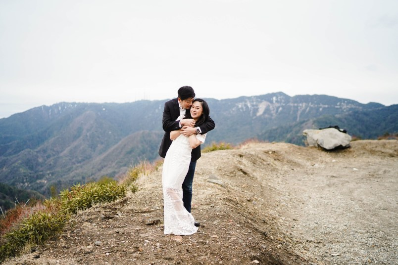 Angeles Crest Engagement Gill Lewis 14