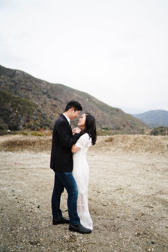 Angeles Crest Engagement Gill Lewis 18