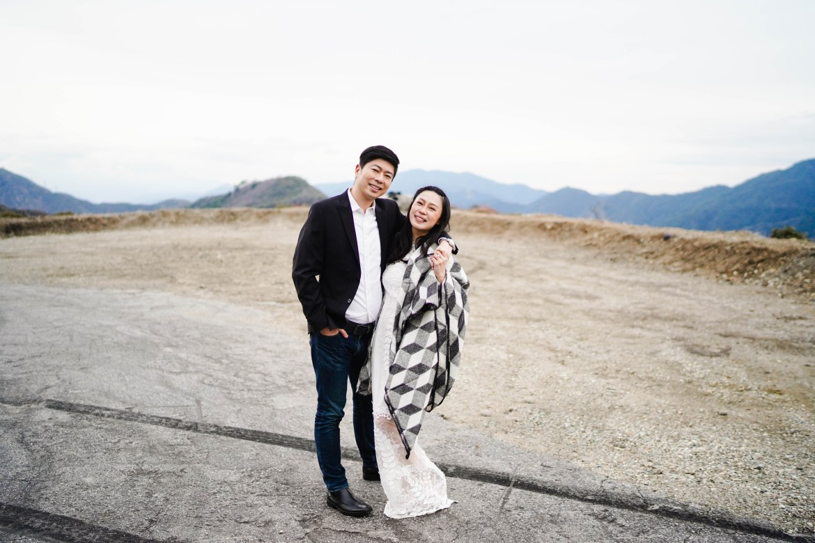 Angeles Crest Engagement Gill Lewis 29