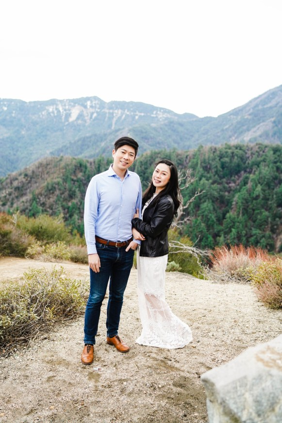 Angeles Crest Engagement Gill Lewis 5