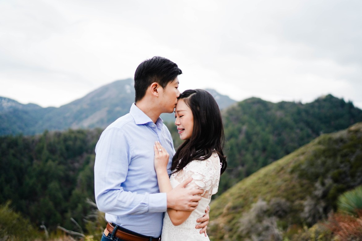 Angeles Crest Engagement Gill Lewis 7
