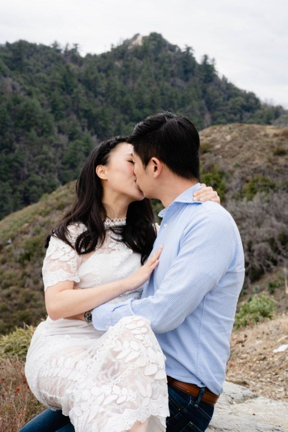 Angeles Crest Engagement Gill Lewis 8