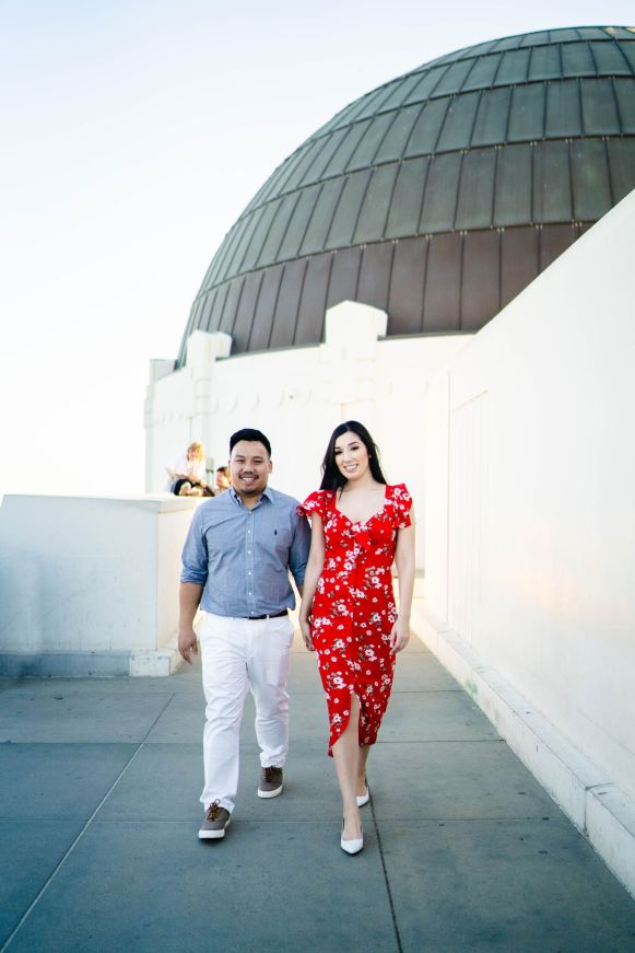 Griffith Observatory Engagement 17