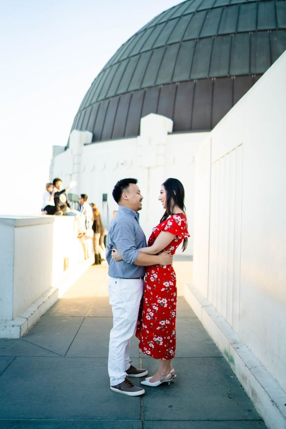 Griffith Observatory Engagement 18