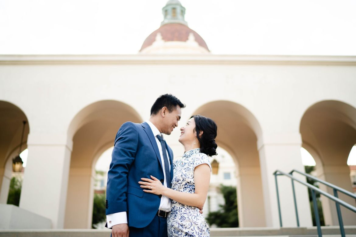 Pasadena City Hall Engagement 19