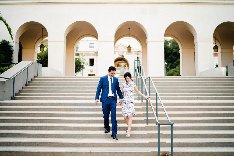 Pasadena City Hall Engagement 24