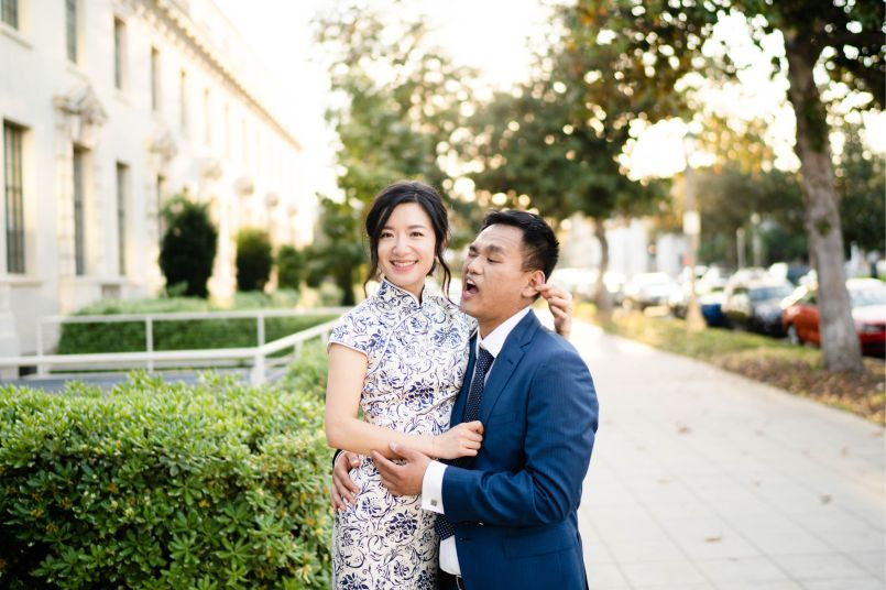 Pasadena City Hall Engagement 30