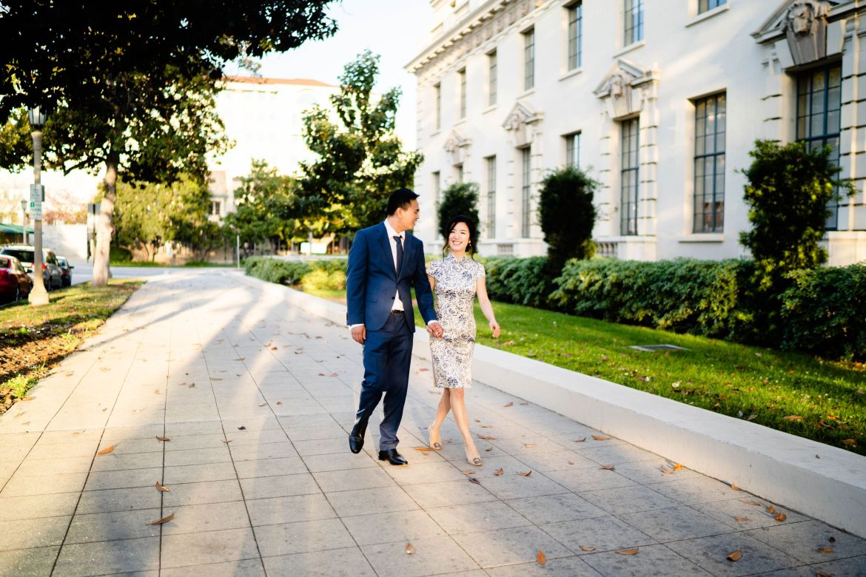 Pasadena City Hall Engagement 36