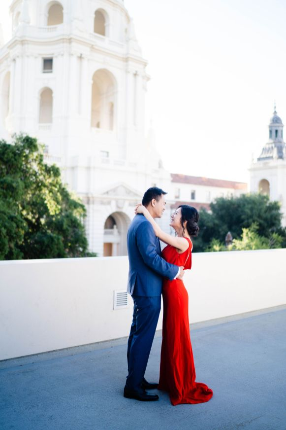 Pasadena City Hall Engagement 4