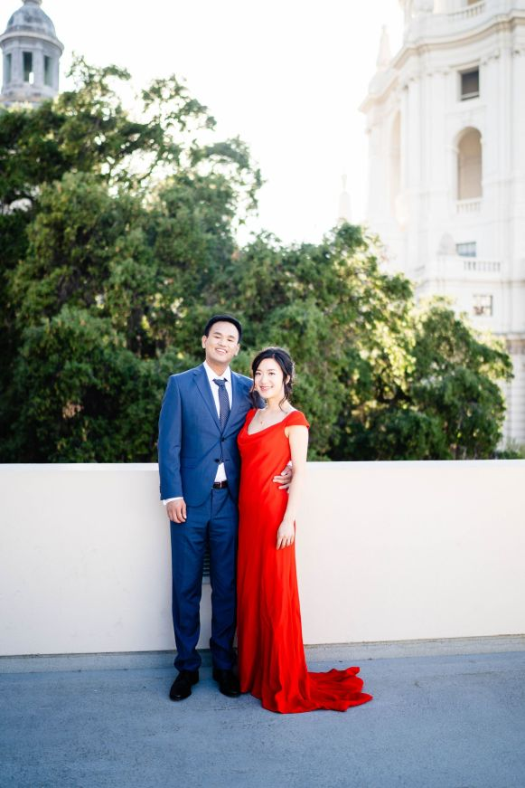 Pasadena City Hall Engagement 8