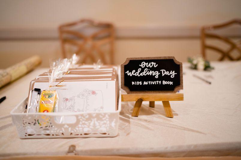 Wedding Kids Craft