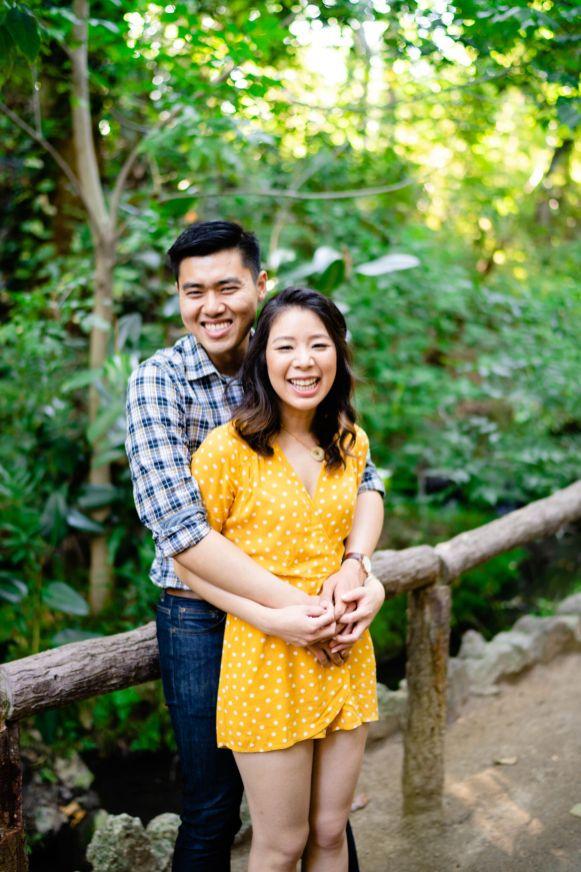 LA Botanical Garden Engagement