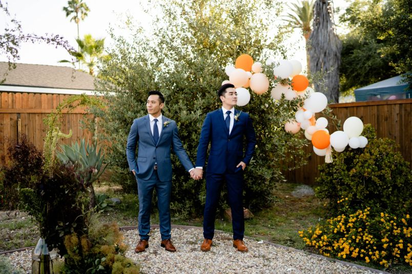 los angeles gay wedding
