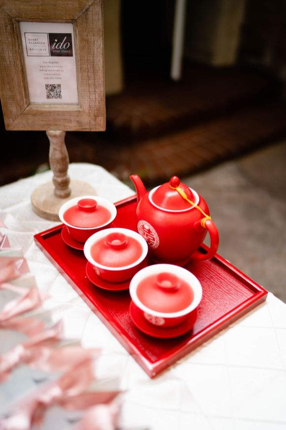 tea ceremony wedding