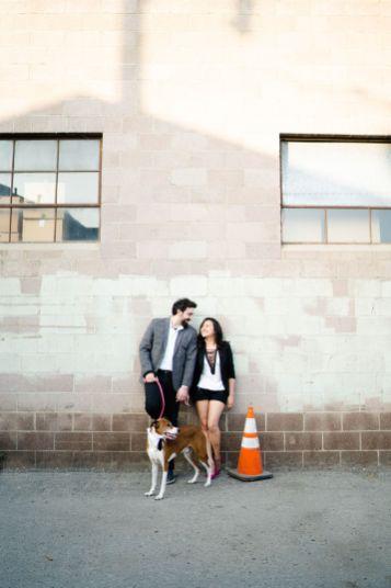 Los Angeles engagement photo