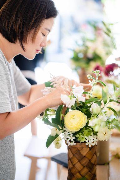flower arragement workshop