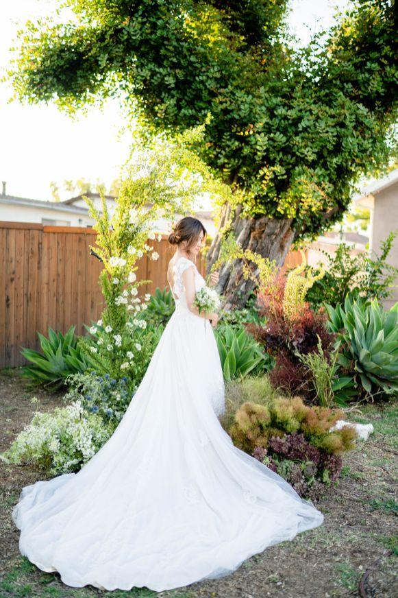 garden wedding los angeles