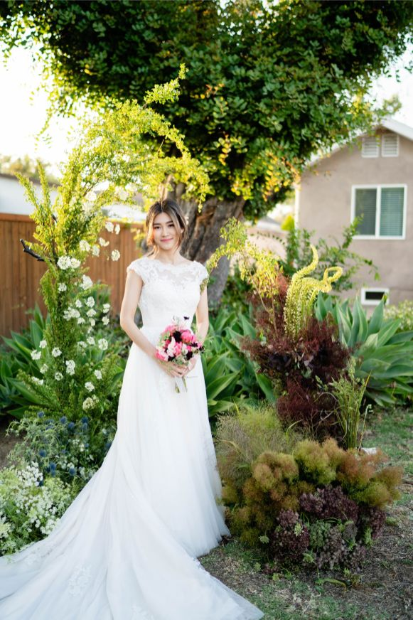 garden wedding pasadena