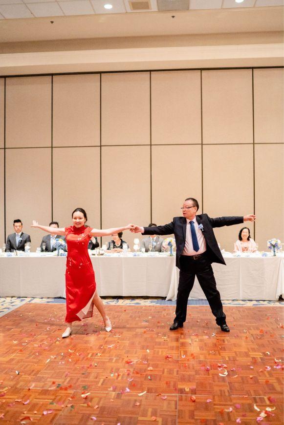 father of bride dances