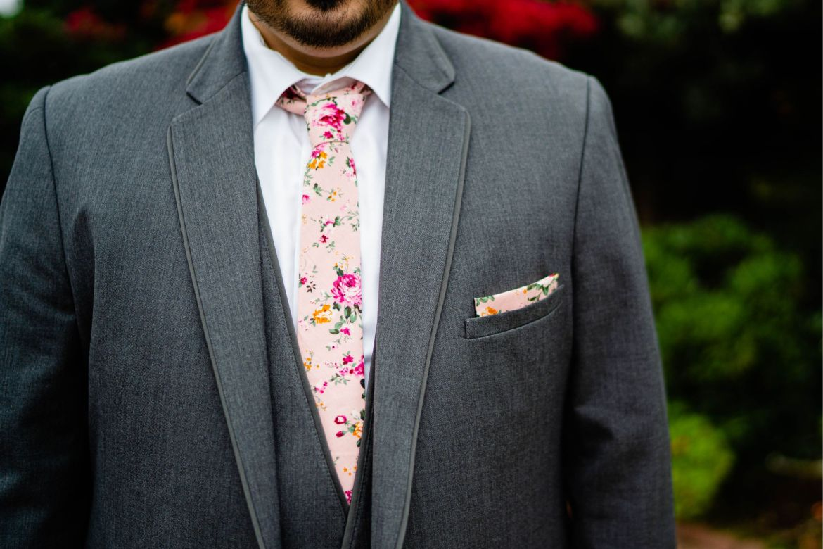 fun wedding tie