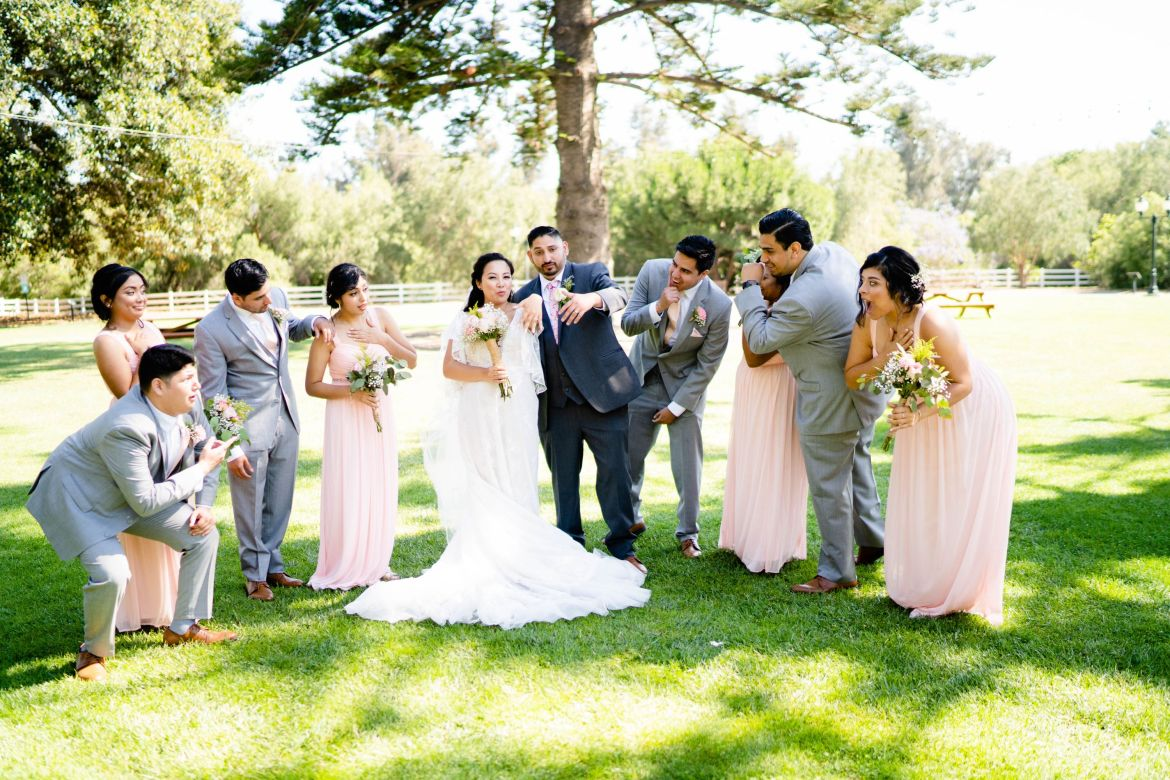 los angeles ranch house wedding