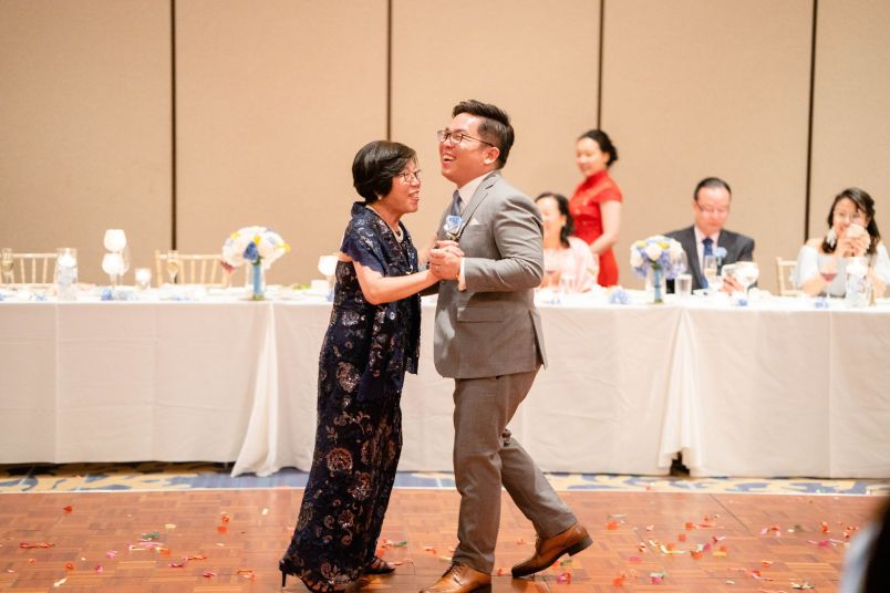 mother of groom dance