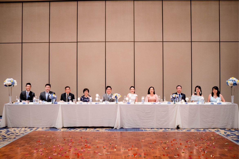 wedding king's table