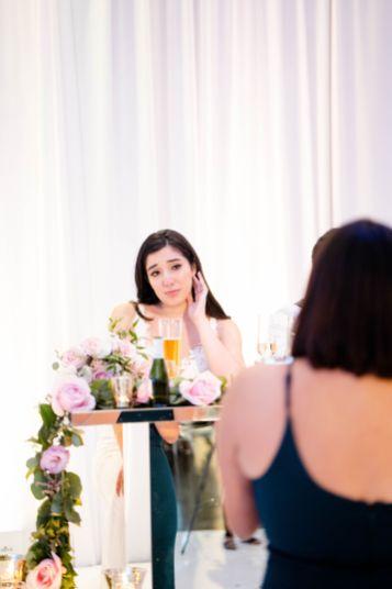 bride at MOH speech